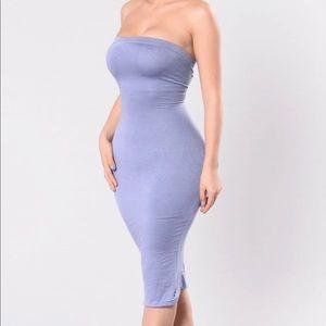 Fashion Nova tube dress violet